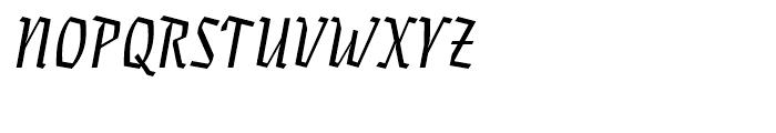 Eskapade Fraktur Italic Font UPPERCASE