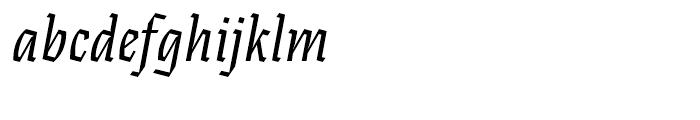 Eskapade Fraktur Italic Font LOWERCASE