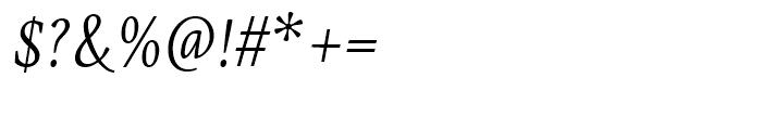Eskapade Regular Italic Font OTHER CHARS