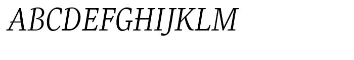 Eskapade Regular Italic Font UPPERCASE