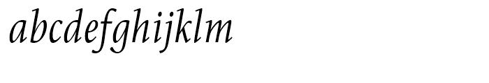 Eskapade Regular Italic Font LOWERCASE