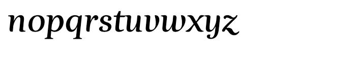 Esta Bold Italic Font LOWERCASE