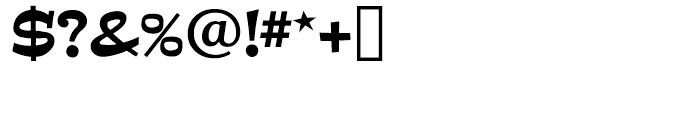 Estro Regular Font OTHER CHARS