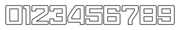 Eslava Outline Font OTHER CHARS