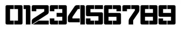 Eslava Stencil Font OTHER CHARS