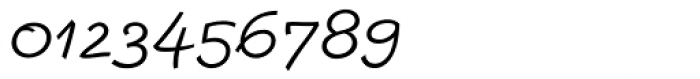 Escript Light Italic Font OTHER CHARS