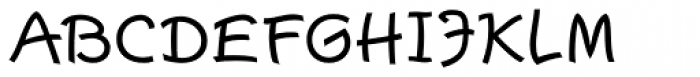 Escript Medium SC Font UPPERCASE