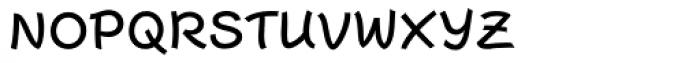 Escript Medium SC Font LOWERCASE