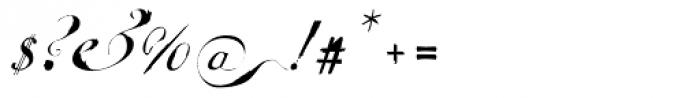 Escrita Principal Font OTHER CHARS