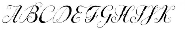 Escrita Principal Font UPPERCASE