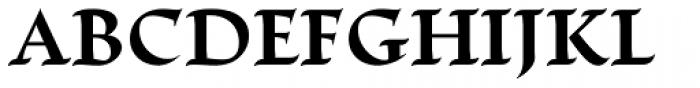 Escritura Bold Font UPPERCASE