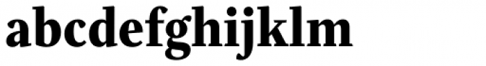 Eskapade Extrabold Font LOWERCASE