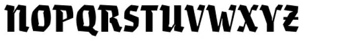 Eskapade Fraktur Black Font UPPERCASE