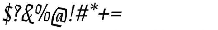 Eskapade Fraktur Italic Font OTHER CHARS