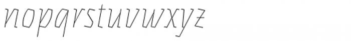 Eskapade Fraktur Thin Italic Font LOWERCASE