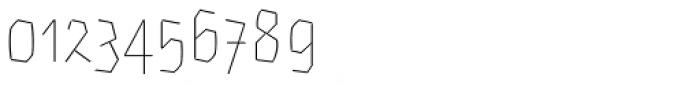 Eskapade Fraktur Thin Font OTHER CHARS