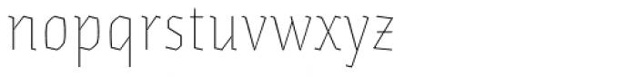 Eskapade Fraktur Thin Font LOWERCASE