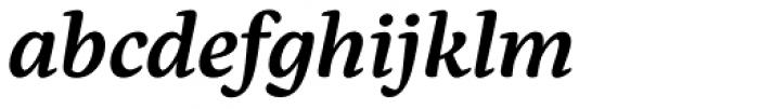 Eskorte Latin SemiBold Italic Font LOWERCASE