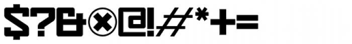 Eslava Solid Font OTHER CHARS