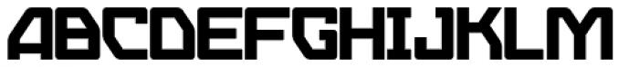 Eslava Solid Font UPPERCASE