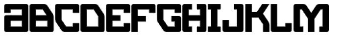 Eslava Solid Font LOWERCASE
