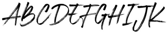 Espander Regular Font UPPERCASE