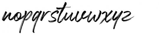 Espander Regular Font LOWERCASE