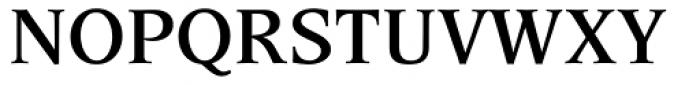 Esperanto SemiBold Font UPPERCASE