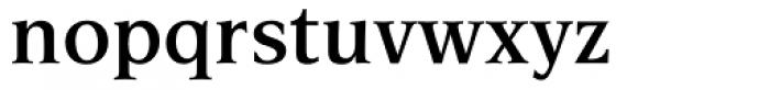 Esperanto SemiBold Font LOWERCASE