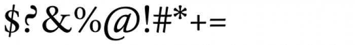 Espinosa Nova Aldine Italic Font OTHER CHARS