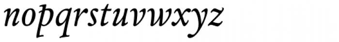 Espinosa Nova Aldine Italic Font LOWERCASE