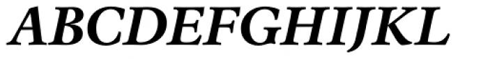 Espinosa Nova Bold Italic Font UPPERCASE