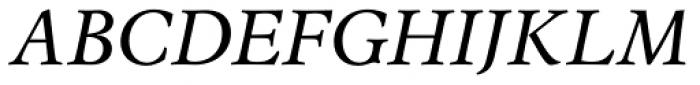 Espinosa Nova Italic Font UPPERCASE