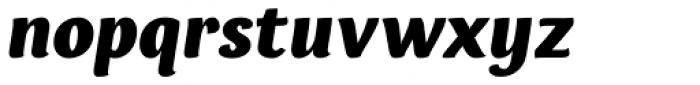 Espuma Pro Black Italic Font LOWERCASE