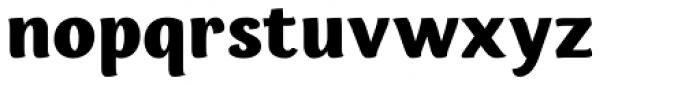 Espuma Pro Black Font LOWERCASE