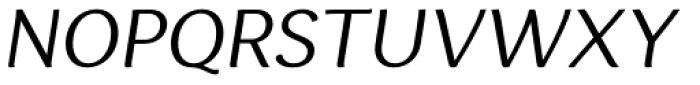 Espuma Pro Book Italic Font UPPERCASE