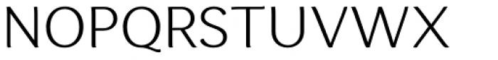 Espuma Pro Light Font UPPERCASE