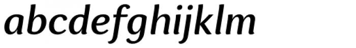 Espuma Pro Medium Italic Font LOWERCASE