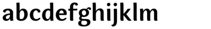 Espuma Pro SemiBold Font LOWERCASE
