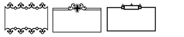 Ess Frames Font UPPERCASE