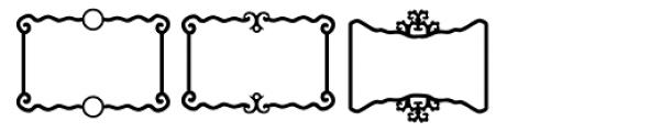 Ess Frames Font LOWERCASE