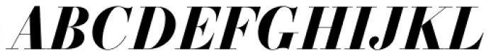 Essonnes Headline Bold Italic Font UPPERCASE