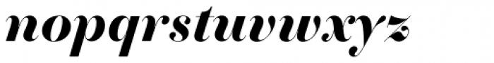 Essonnes Headline Bold Italic Font LOWERCASE