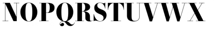 Essonnes Headline Bold Font UPPERCASE