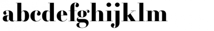 Essonnes Headline Bold Font LOWERCASE