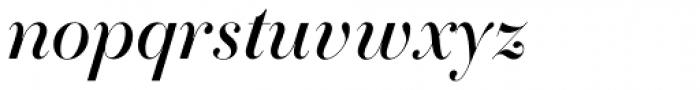 Essonnes Headline Italic Font LOWERCASE