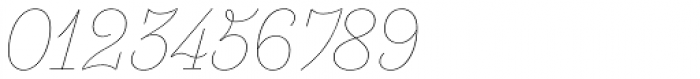 Essonnes Headline Thin Italic Font OTHER CHARS