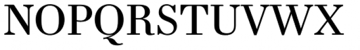 Essonnes Text Regular Font UPPERCASE