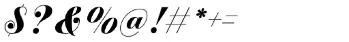 Estampa Script Bold Font OTHER CHARS