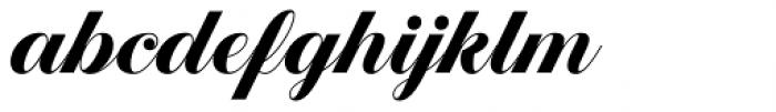 Estampa Script Bold Font LOWERCASE